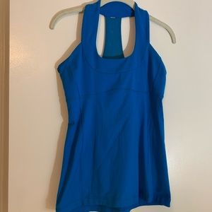 LuluLemon Bright Blue Tank, Great Condition, S